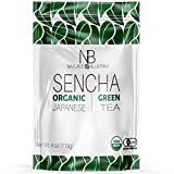 Nature's Blueprint Sencha - Loose Leaf Green Tea Grown in Japan - Made Only from Pure and Organic Japanese Leaves with Powerful Anti Inflammatory Properties - Unsweetened for an All Natural Taste