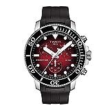 Orologio cronografo uomo Tissot T120.417.17.421.00 acciaio collezione Seastar 1000 Cronograph