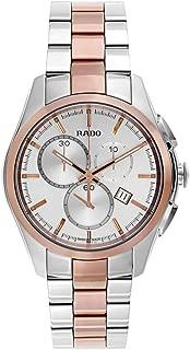 Rado Hyperchrome L Silver Dial Two-Tone SS Chrono Quartz Male Watch R32039102