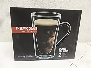 Luigi Bormioli Thermic Hot Drink, 14-ounce, Clear, Set of 2 (B00L24WP74) | Amazon price tracker / tracking, Amazon price history charts, Amazon price watches, Amazon price drop alerts