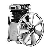 VEVO Industrial 3HP Air Compressor Head Pump Motor 160PSI 1300/min Single Stage Twin Cylinder Aluminum Air...