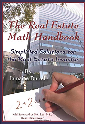 Real Estate Investing Books! - The Real Estate Math Handbook Simplified Solutions For The Real Estate Investor