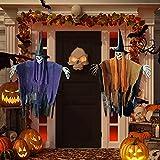 halloween decoracion, bruja decoraciones , Halloween colgante esqueleto fantasma decoraciones terroríficas para interiores y exteriores, jardín fiesta patio decoraciones de halloween