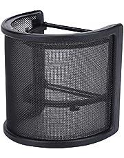 SH-RuiDu Microfoon Pop Filter U Vorm Voorruit Metalen Mesh Mic Voorruit voor Studio