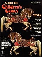 George Bizet Children's Games Jeux D'enfants / Twelve Children's Games: Op. 22, Music Minus One Piano, 12 Original Pieces for Piano 4 Hands (Music Minus One (Numbered))
