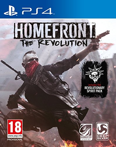 Ps4 Homefront: The Revolution (Includes The Revolutionary Spirit Pack) (Eu)
