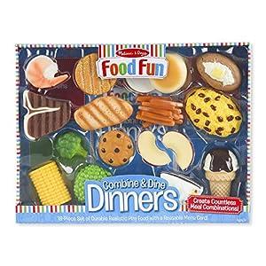 Melissa & Doug Food Fun Combine & Dine Dinners - Blue - 51aqZvF5R1L - Melissa & Doug Food Fun Combine & Dine Dinners – Blue