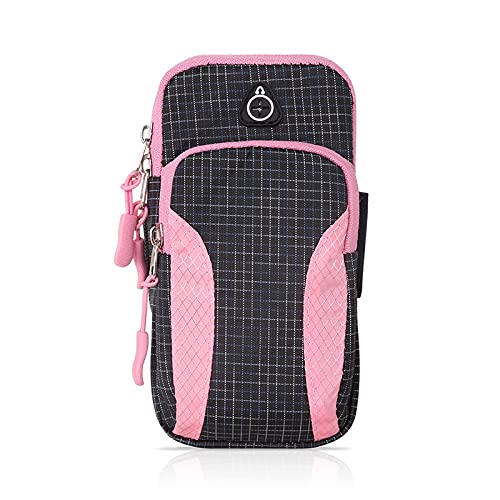 QIANJINGCQ New running mobile phone arm bag outdoor sports diving material arm bag men and women fitness equipment arm bag backpack