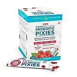 Nordic Naturals Kids Nordic Flora Probiotic Pixies, Rad Berry - 30 Packets - 3 Billion CFU - Digestive Wellness, Immune Support - Non-GMO, Vegan - 30 Servings