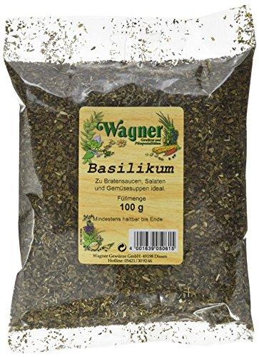 Wagner Gewürze Basilikum, 5er Pack (5 x 100 g)