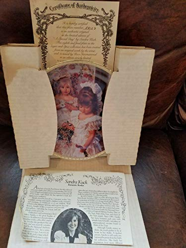 Kingdom Collectibles Sandra Kuck COLLLECTORS Plates Special Day from Sugar and Spice Series
