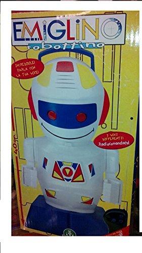 Giochi Preziosi Emiglino Emiglio Robot Telecomandato cm 40 Vintage Originale