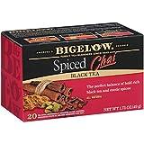 Bigelow Spiced Chai Black Tea, 20 Bags (Pack of 6), 120 Tea Bags Total