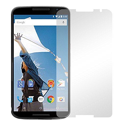 Slabo 2 x Protector de Pantalla para Motorola Nexus 6 lámina Protectora de Pantalla Ultra Transparente Invisible
