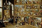 HZDXT® Rompecabezas de Madera, Galería en Bruselas Puzzle 1000 Piezas, Rompecabezas de Pintura de fama Mundial Niños Adultos Juguetes educativos