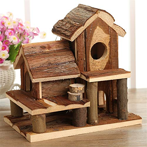 Zavddy Hamster Casa Mascota de Estar Casa Pequeño hámster Ratones Jerbo casita...