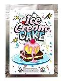 Ice Cream Cake V4-3.5g Mylar Smell Proof Zip Lock Empty Bags 30pcs