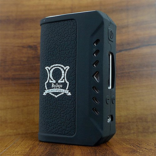 ModShield ByJojo for Think Vape Finder 75W TC DNA 75 Silicone Case Skin Sleeve Cover Wrap (Black)