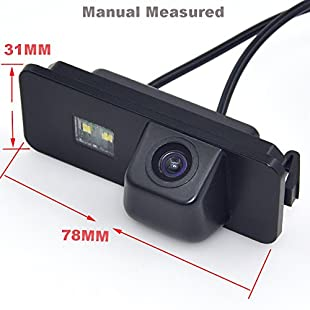 Auto Wayfeng WF® Car Rear View Backup Reverse CAMERA for VW GOLF CC PASSAT B6 POLO GOLF SCIROCCO EOS LUPO (2 cage) PHAETON BEETLE SEAT VARIANT