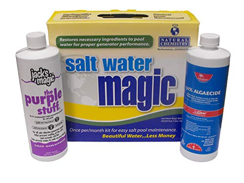 SMOPS Salt Water Chemical Maintenance Closing Kit for Swimming Pool   Up to 30,000 Gallons