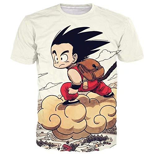 VEPOSE Kid Goku Flying Nimbus T Shirt Birthday Gift 57 Asian 3XL