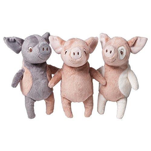 IKEA Kuscheltier Schwein KELGRIS 3 Farben (rosa-weiß)