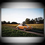 Leinwand Malerei Heimtextilien 911 Carrera RS Oldtimer
