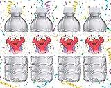Elmo Party Favors Supplies Decorations Water Bottle Labels 12 Pcs
