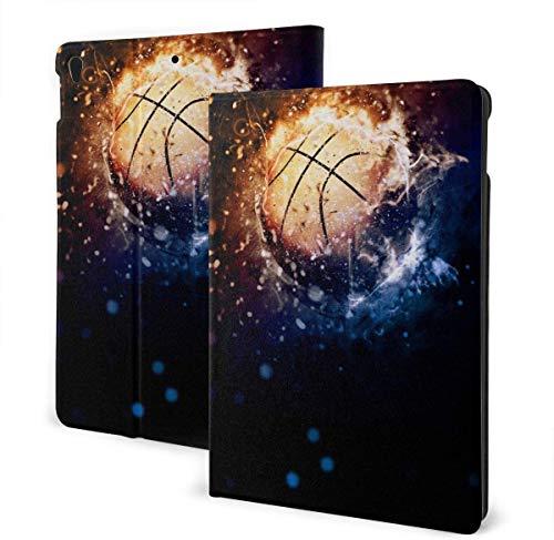 Funda con póster Deportivo de Baloncesto para iPad Air 3rd Gen 10.5 '2019 / iPad Pro 10.5' 2017 Soporte Tipo Folio de múltiples ángulos Auto Sleep / Wake para iPad Tablet de 10.5 Pulgadas