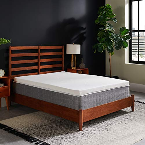 Tempur-Pedic TEMPUR Supreme 3-Inch Medium Firm Mattress Topper,...