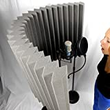 #1 Pro level Portable Vocal booth & Microphone Shield - Voicecube Wrap Pro Tm by VoiceCube.net