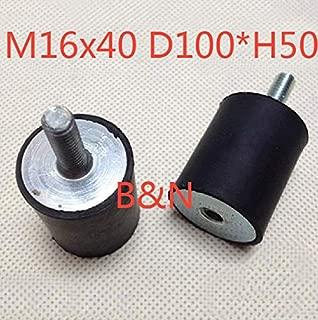 Ochoos M16 x40 D100H50,Male/Female,VD Rubber Vibration Damper/Rubber Screw Damper Electrical Machine Rubber Shock Absorption Screw