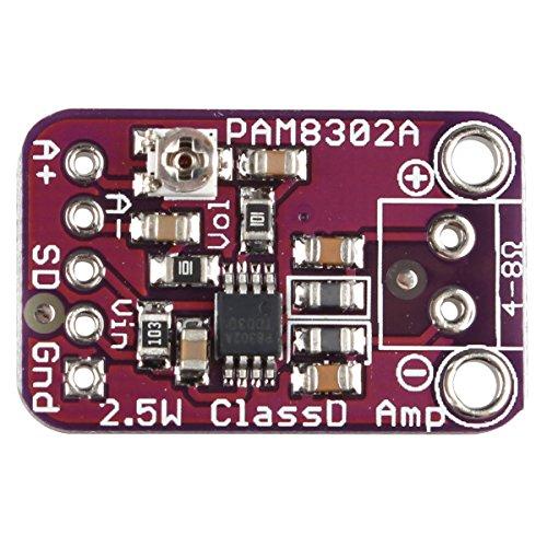 EBS Cjmcu832 Pam8302 Placa de Módulo de Amplificador de Audio Mono de 2.5 Vatios