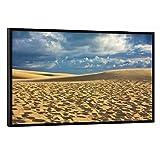artboxONE Poster mit schwarzem Rahmen 60x40 cm Natur Dune