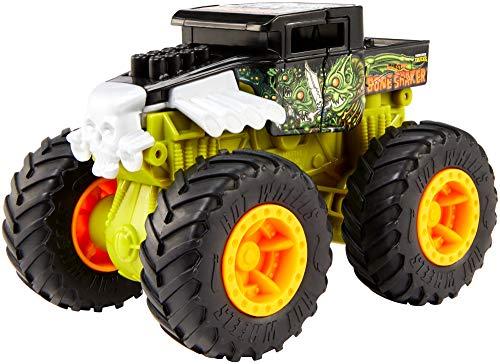 Hot Wheels Monster Truck coches de juguetes superchoques 1:43, modelos surtidos (Mattel GCF94)