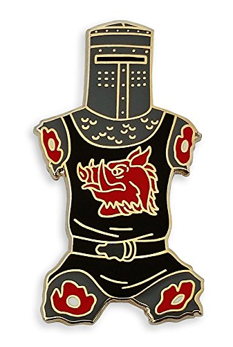 Pinsanity Black Knight Just A Flesh Wound Enamel Lapel Pin