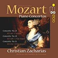 Mozart: Piano Concertos Vol. 6 by W.A. Mozart (2010-10-05)