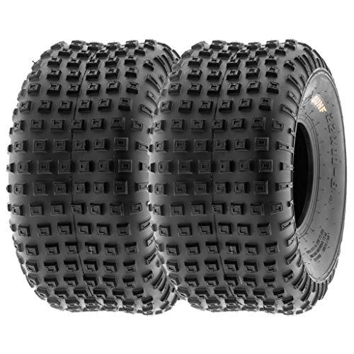 SunF 15x7-6 15x7x6 ATV UTV Tires 6 PR Tubeless A011 [Set of 2]