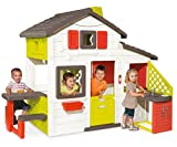 Smoby-810200 Casa Friends House con Cocina Exterior, Color