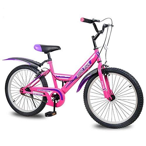 Domrx Processo di Saldatura ad Arco ad Argon a velocità Singola per Bicicletta per Bambini per Bambini di età Compresa tra 8 e 12 Anni-Blu_43 cm (