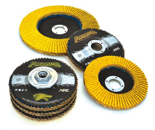 10-Pack 3-Inch by 24-Inch 36-Grit Arc Abrasives 71586-3 Zirconia Alumina Portable Belts