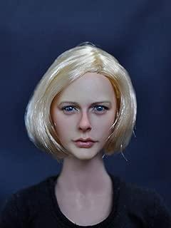 1:6 Scale Action Figure Head Sculpt Female Head Model F 12'' Tan Body