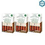LINDA McCARTNEY Chorizo Vegetariano y Salchichas de Pimienta Roja (VEGANO) 300GR Congelado Pack de 3