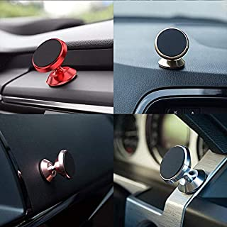 AC Accessories Magnetic Phone Car Mount, 360° Rotation Universal Phone Holder for Car Dashboard Compatible for Motorola Moto Z2 Force, Motorola Droid Maxx - Multi Color