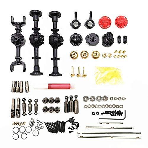 RC Teile Komplettsatz für Ferngesteuertes Auto Upgrade Teile Metall Antriebswelle für 1/16 WPL B14 B24 B26 C14 C24 RC Crawler Auto Zubehör