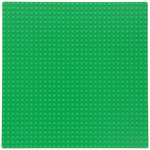 """LEGO 626 Green Building Plate (10"""" x 10"""") (Discontinued by manufacturer)"""