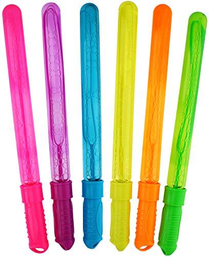 com-four® 6X Stick per Sapone in Diversi Colori, Stick per Sapone, 238 ml per Stick (06 Pezzi - 45 cm)
