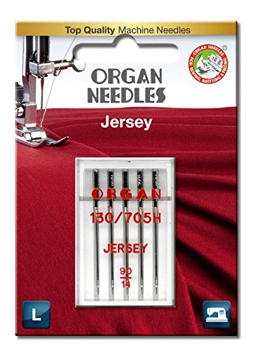 Best Buy! ORGAN NEEDLES 90/14 Jersey x 5 Needles
