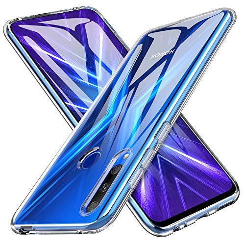 iBetter Coque pour Honor 9X, Soft Premium TPU Transparent, Anti-Slip, Résistant aux Rayures, pour Honor 9X Smartphone.Transparent