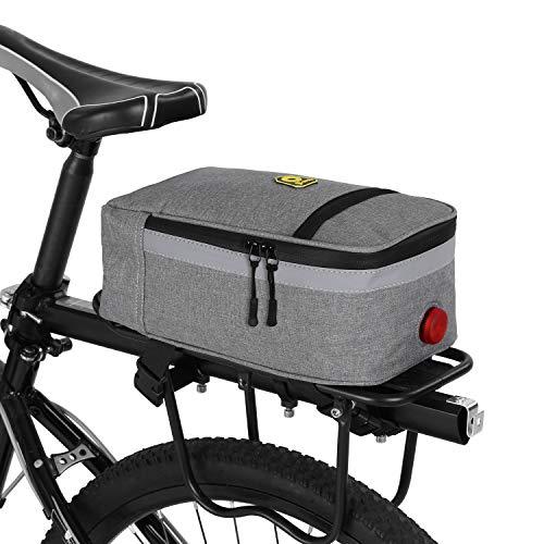 Bolsa Impermeable para Maletero de Bicicleta, Bolsa para Asiento Trasero, Bolsa para Bicicleta MTB, portaequipajes, Bolsa portaequipajes